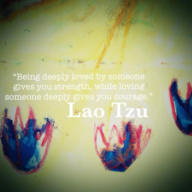 Lao Tzu Quote Love Deeply