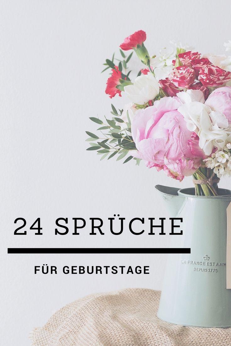 Spruche Zum Geburtstag Zitate Spruche Quotes Leben Motivation Nachdenken
