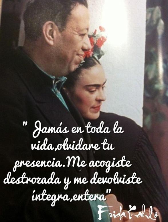 Frases De Amor De Frida Kahlo A Diego Rivera Love Quotes Frases De Amor Pinterest Frida Kahlo Frases And Frida Quotes