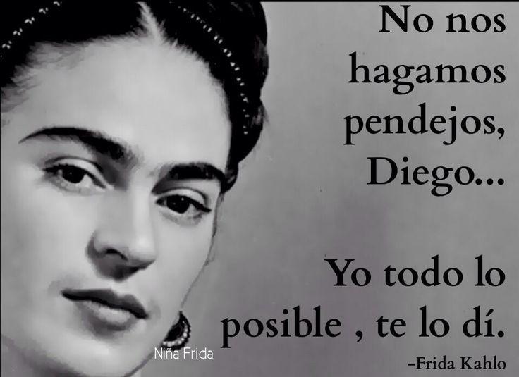 Frida Kahlo Frida Quotesdiego Riveraspanish