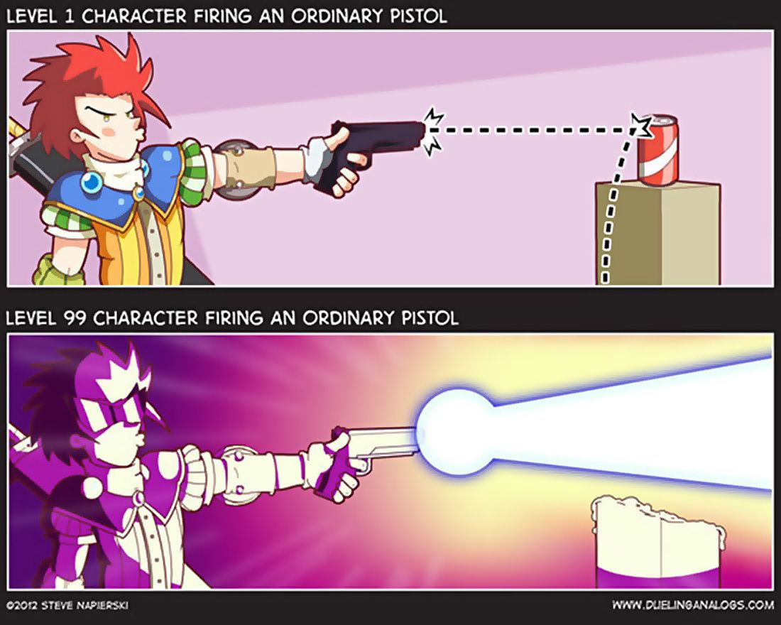 View Duelingogs Role Game Logic Guns And More Funny Posts On Dorkly