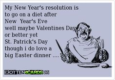 New Year Resolutions Funny Ecards Free Funny Ecards Greeting Cards Create And Send