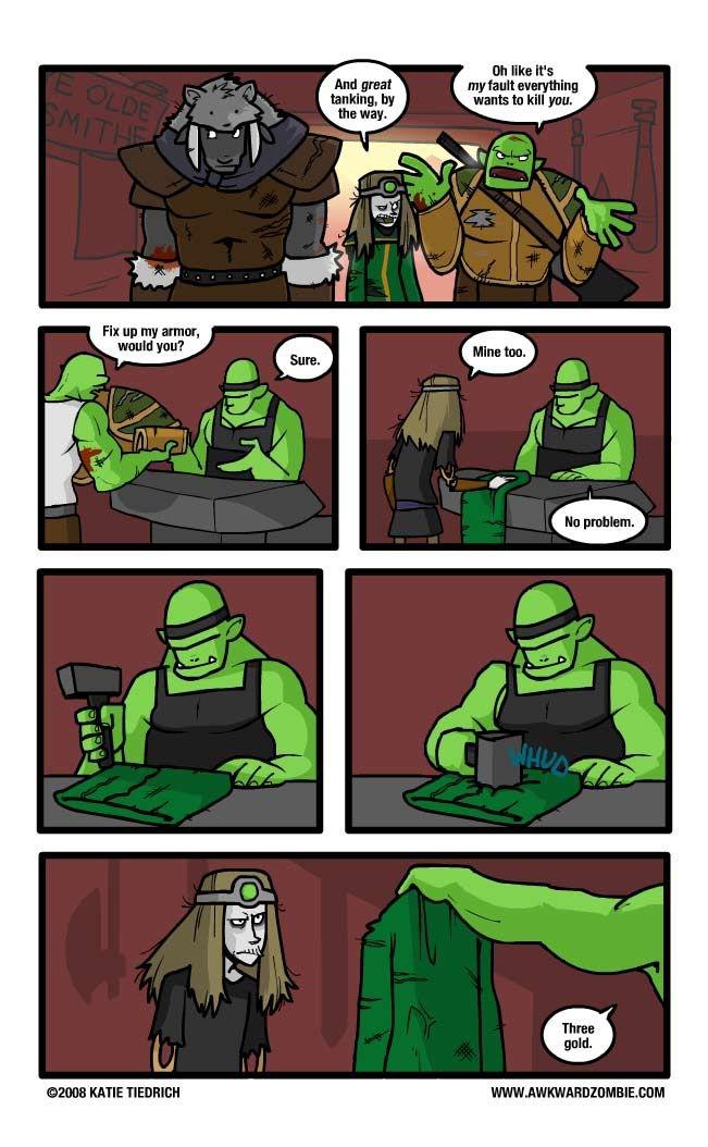 World Of Warcraft Logic