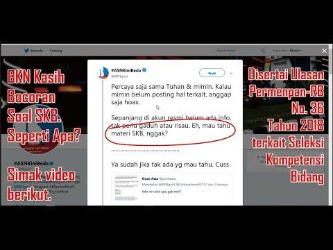 Contoh Soal CPNS 2018: BKN Kasih Kisi-Kisi Bocoran Soal ...
