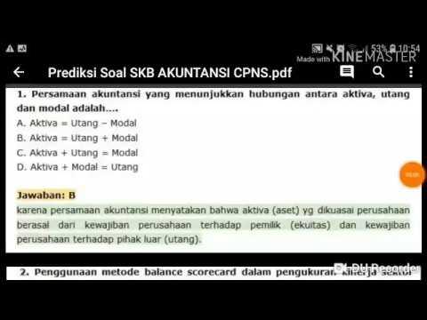 Contoh Soal Cpns 2018 Contoh Soal Skb Cpns Akutansi Icpns