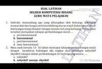 Contoh Latihan Cpns Skb Guru Tik Smp Qwerty