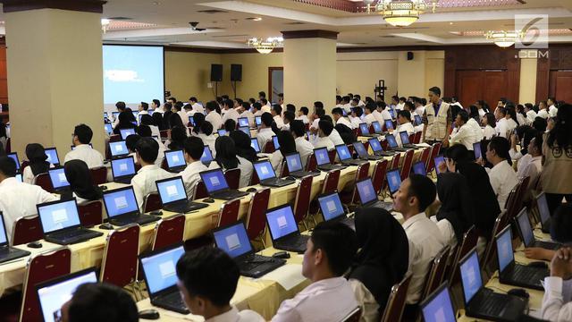 Hasil pengumuman tes SKD dan Jadwal Tes SKB BKN masing-masing Provinsi