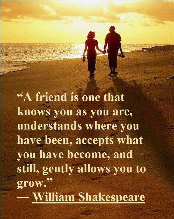 Inspirational Picture William Shakespeare Quotes Sayings Real Friend Find Your Favorite Picture
