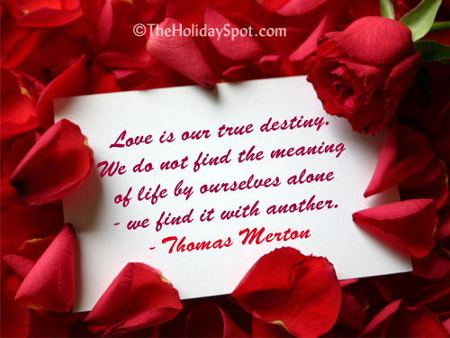 Good Love Quotes For Valentines Day