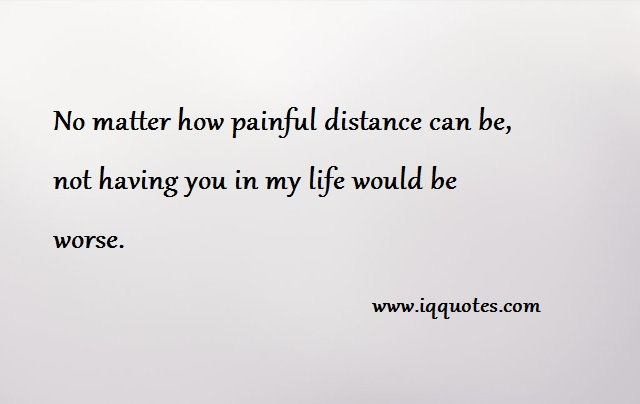Long Distance Love Quotes No Matter