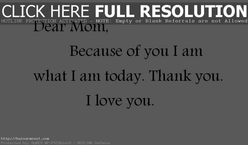 Love Quotes For Mom
