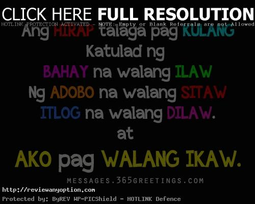 Love Quotes Tagalog Glamorouslovequotes Greetings