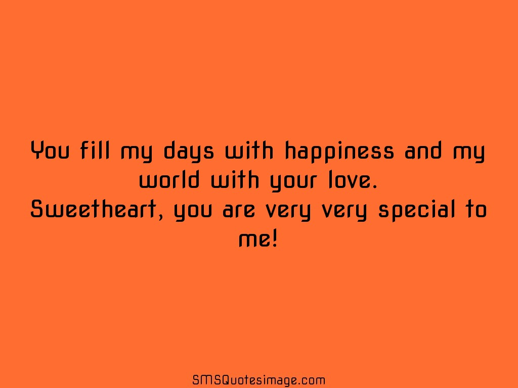 Love You Fill My Days With Happiness  C B Download Quote Image