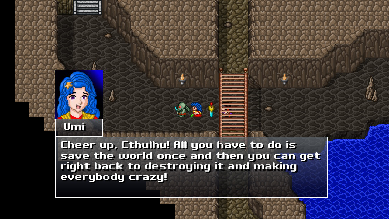 Zeboyd Rpgs Like Cthulhu Saves The World Stand Among The Many Western Role Games Patterned After Dragon Quest