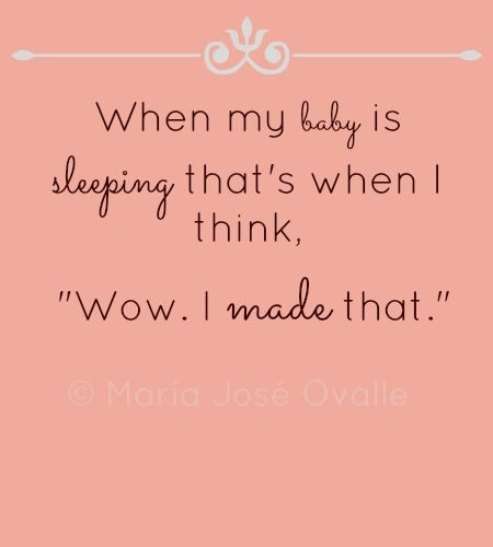 Sweetest Quotes About Sleeping Babies