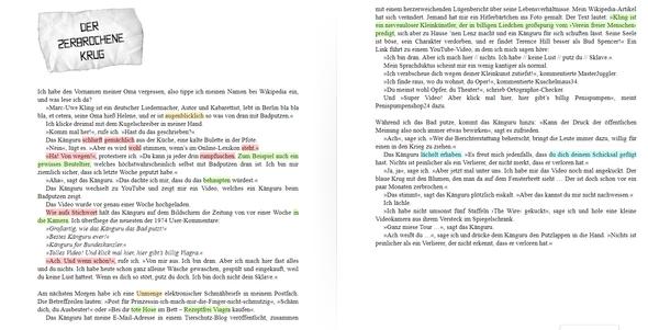 Eine Kapitel Von Kanguru Chronik