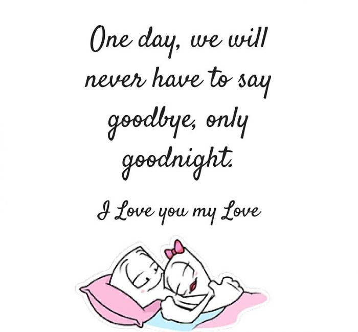 Good Night Quotes To My Love The Best Love Quotes