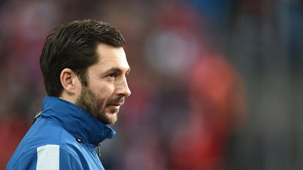 Der Mainzer Trainer Sandro Schwarz Argerte Sich Uber Gute Form Der Bayern Foto Andreas Gebert