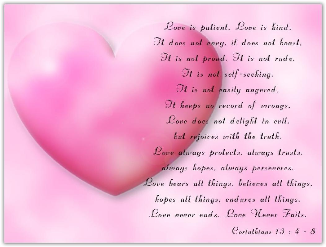 X Love Verse Valentine Day Cards