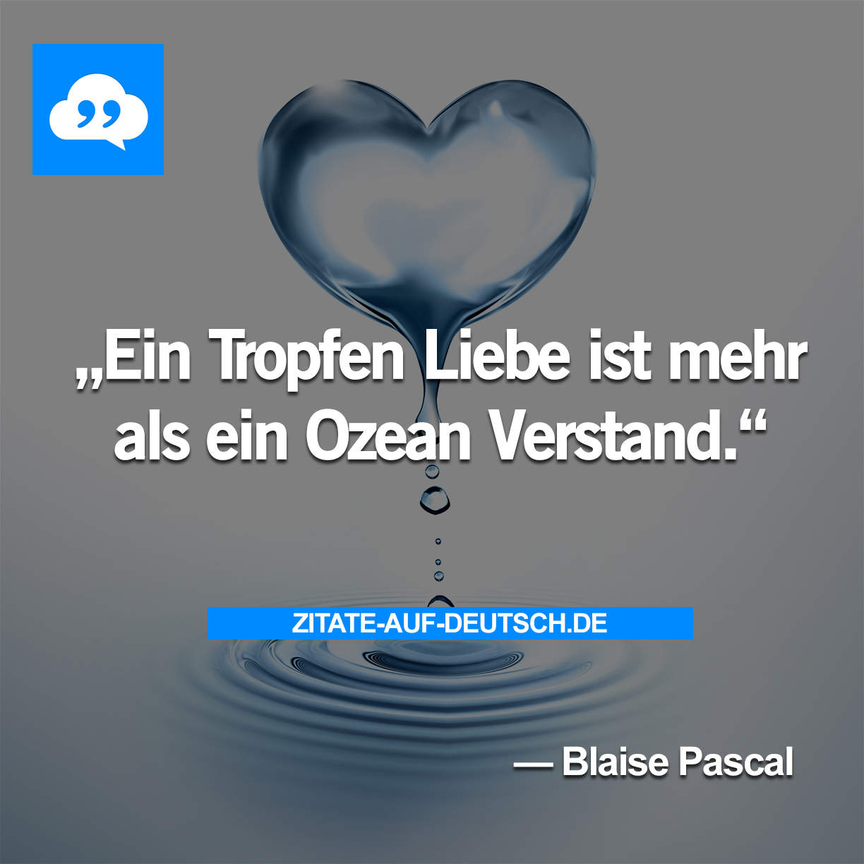 Gefuhl Herz Liebe Ozean Spruch