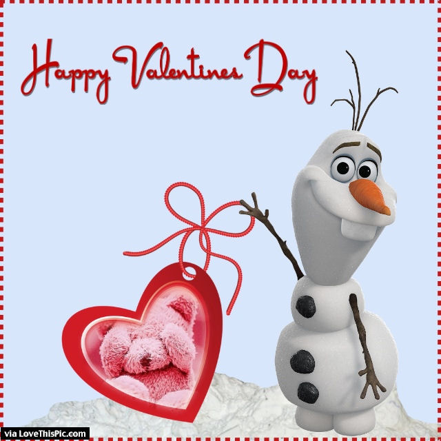 Olaf Happy Valentines Day Quote