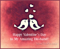 Amazing Husband Valentines Day Quote