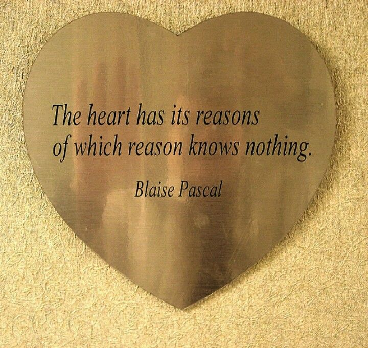 Reasons Blaise Pascal