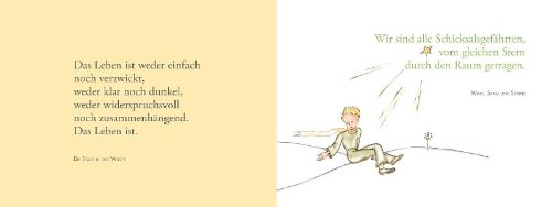 Interesting Der Kleine Prinz Trstende Gedanken Von Antoine De Saintexupry Amazonde Antoine De Saintexupry Bcher With Zitate Aus Dem Kleinen Prinzen