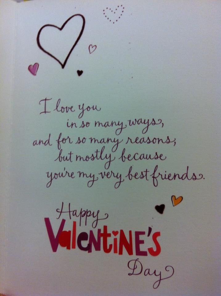 Valentine Quotes For Friends | Valentine Quotes For Bestie Hover Me