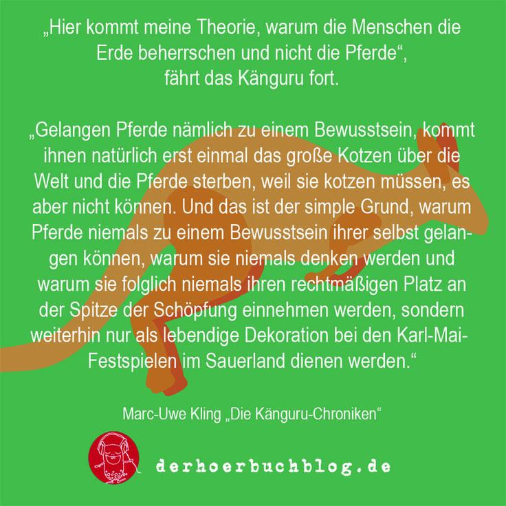 Kanguru Chroniken Zitat Von Marc Uwe Kling Horbuch Zitat