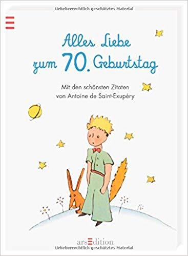 Geburtstag Schonsten Zitate Von Antoine De Saint Exupery Amazon Co Uk  Books