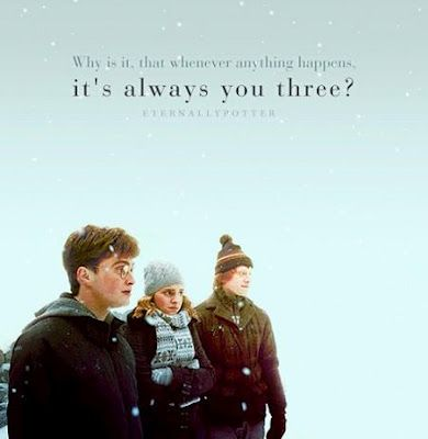 Why Is It That Whenever Anything Happens Its Always You Three Lebensweisheitenplakateharry Potter Freundschaft Zitateharry