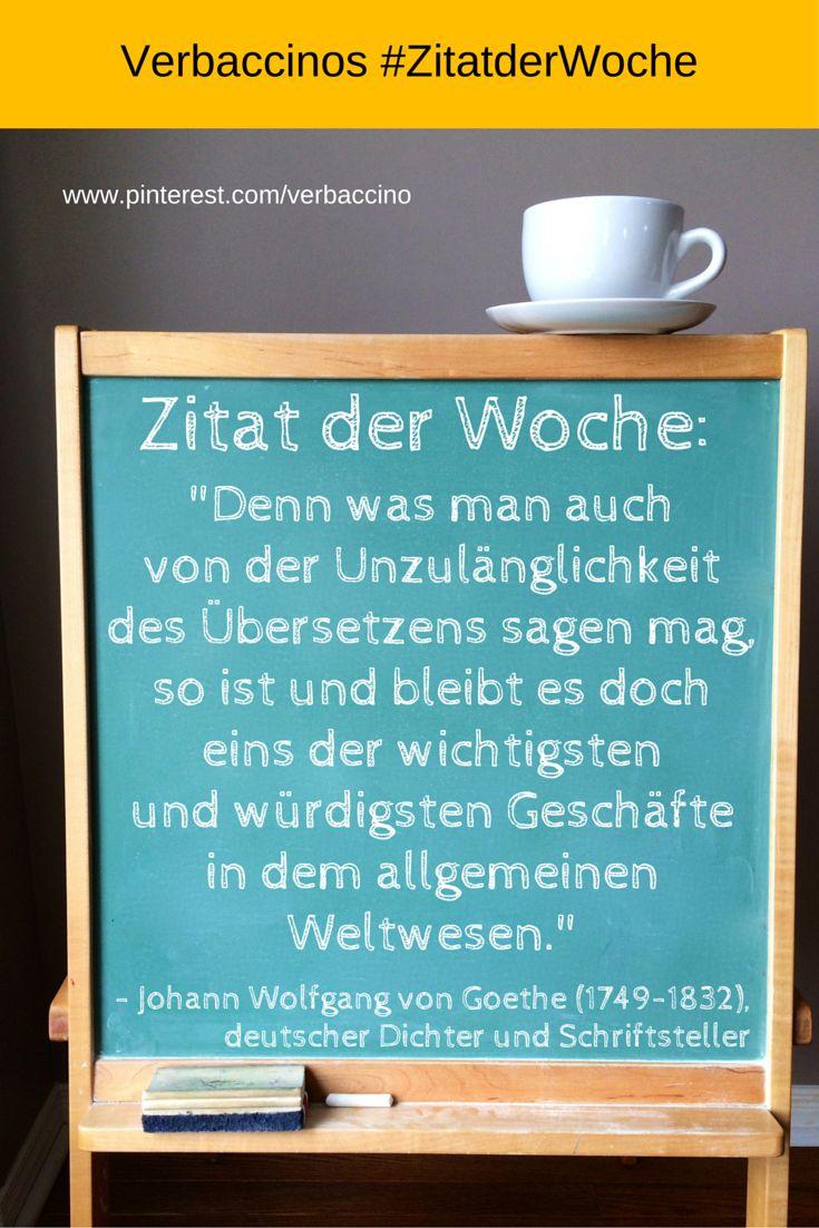 So Ist Und Bleibt Es Doch Eins Der Wichtigsten Und Wurdigsten Geschafte In Dem Allgemeinen Weltwesen Johann Wolfgang Von Goethe