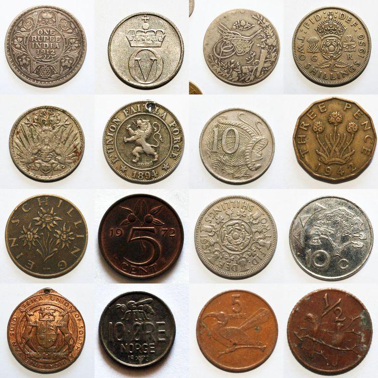 Besten Coins Bilder Auf Pinterest Alte Munzen Geld