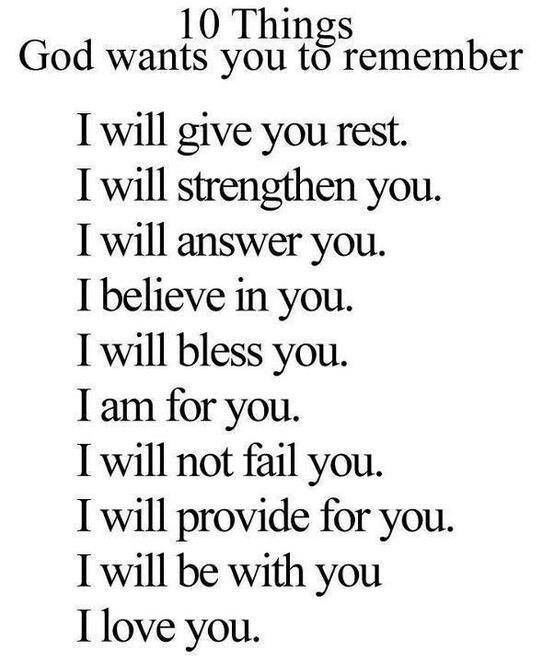Things To Remember I Love Jesus Christ Christian Quotes