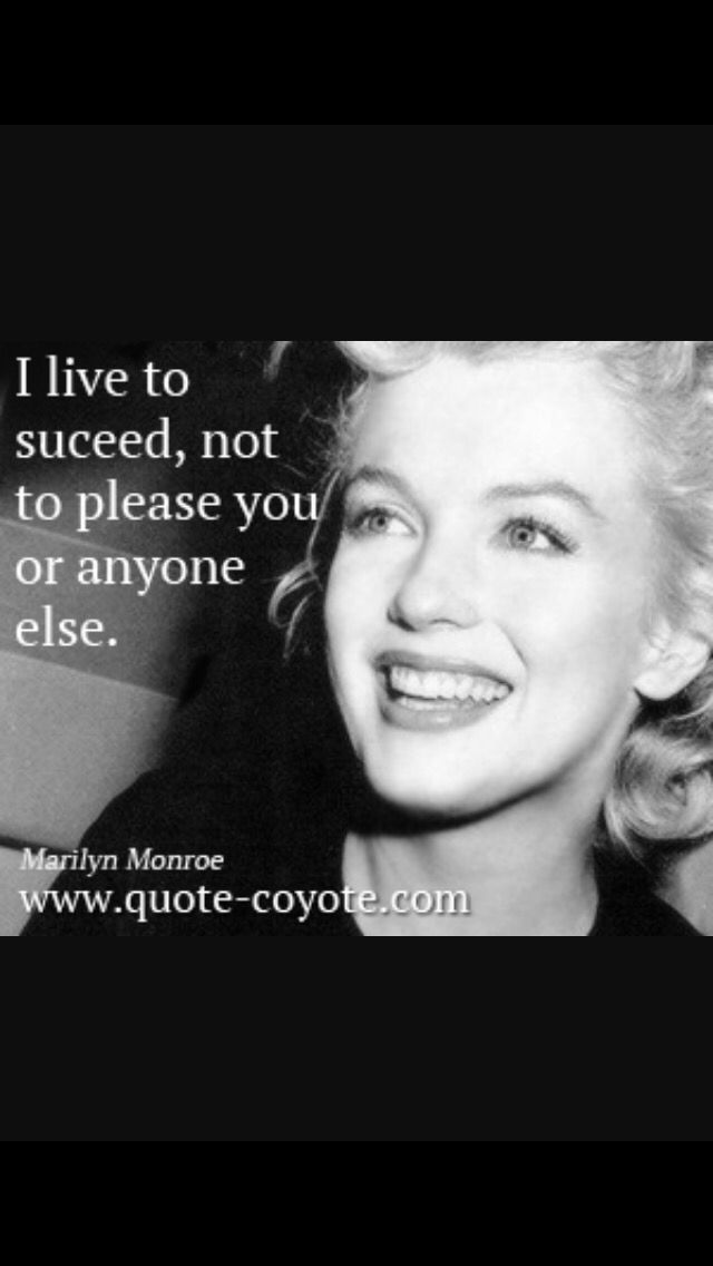 One Of Marilyn Monroes Best Quotes