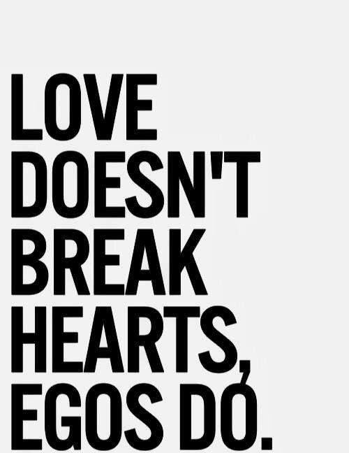 Love Vs Ego