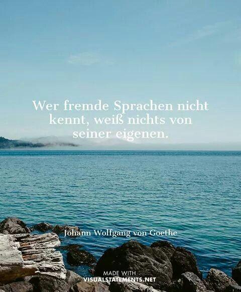 Fremde Sprachen Goethe