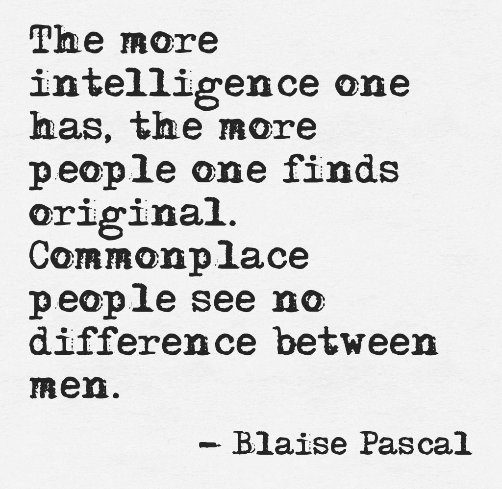 French Philosopher Blaise Pascal Pensees