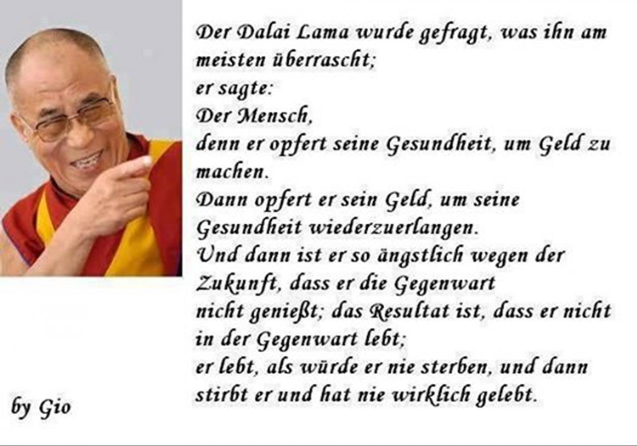 Spruche Uber Das Leben Freundschaft Dalai Lama