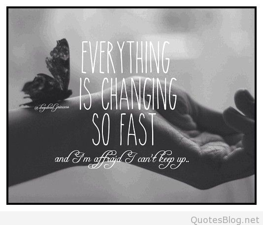 Everything Is Changing Quotes