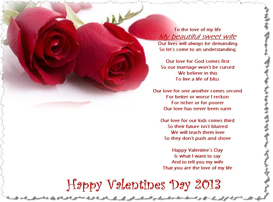 Happy Valentine  Ecards Quotes For Wife