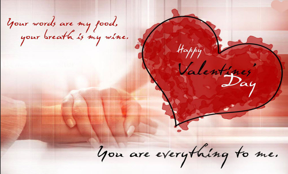 Happy Valentines  Day Wallpapers With Romantic Quotes