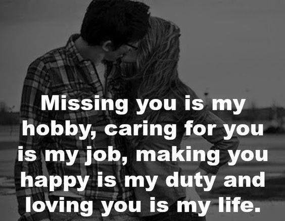 I Miss You Unconditional Love Quote