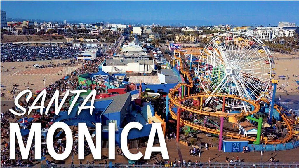 Santa Monica Pier, Santa Monica Tempat wisata paling populer menurut Andrew Hidayat (AndrewHidayat.com)