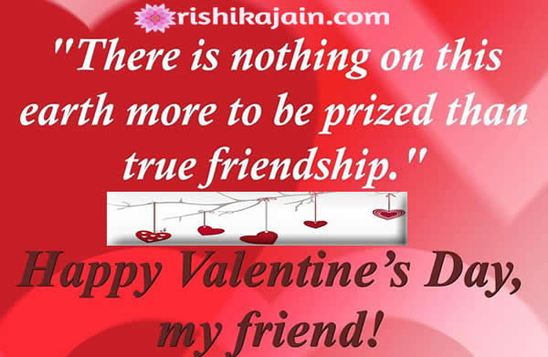 Happy Valentines Day My Dear Friendsquotesmessagesimages