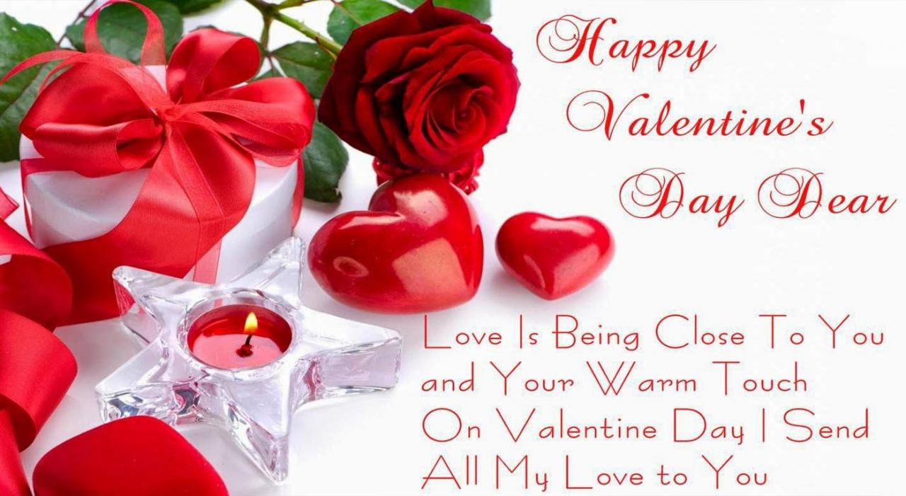 Your Warm Touch Quotations To Say On Valentines Day
