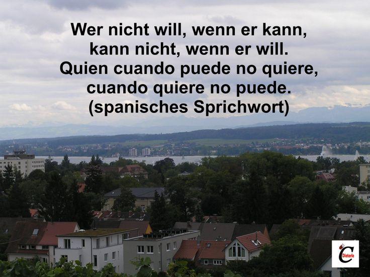 Zitat Wer Nicht Will Wenn Er Kann Kann Nicht Wenn Er Will Spanische Zitatespanische Sprucheauf Deutschworte