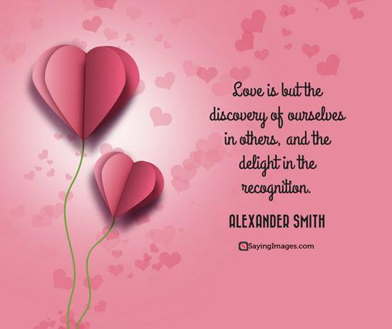 Alexander Smith Valentine Quote