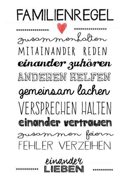 Besten  Ideen Zu Familien Spruche Auf Pinterest Familien Kunst Zitate Bilderzitate Und